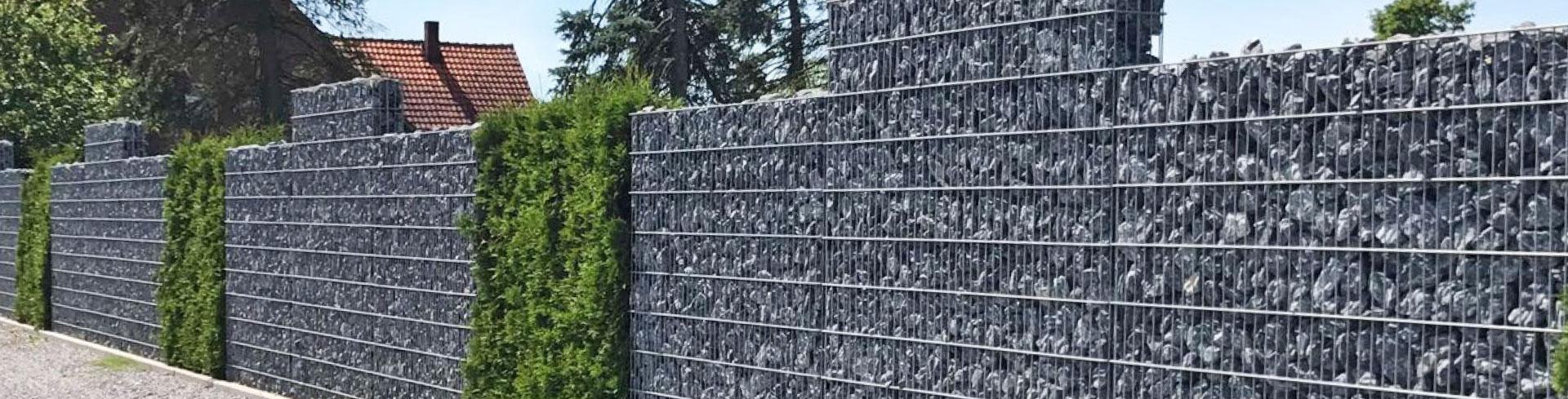 Gabionen - Zaunreich - Qualitätszäune und Tore